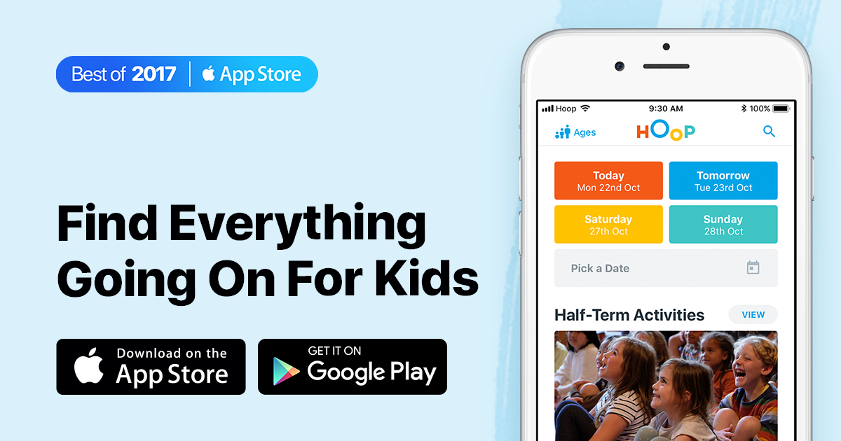 Hoop — Find Everything Going On for Kids